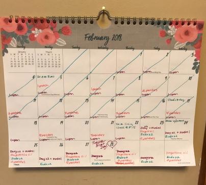 ivf fancy calendar